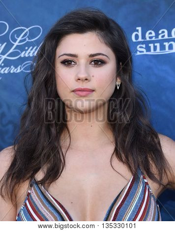 LOS ANGELES - JUN 15:  Amber Coney arrives to the arrives to the Pretty Little Liars Season 7 Event  on June 15, 2016 in Hollywood, CA.