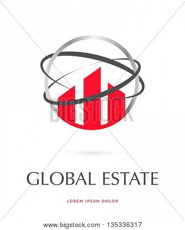 Luxury Real Estate , Vector LOGO / ICON