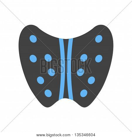 Thyroid, healthy, human icon vector image. Can also be used for human anatomy. Suitable for mobile apps, web apps and print media.