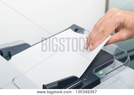 Printing copying and scanning the business documents