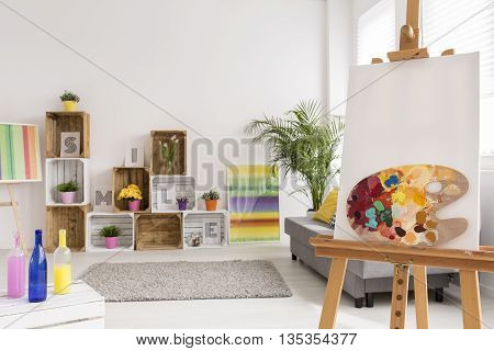 Creative Room Of Artist