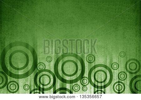 art grunge green circle abstract pattern illustration background