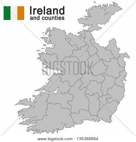 Ireland And Counties