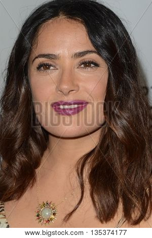 LOS ANGELES - JUN 21:  Salma Hayek at the Septembers of Shiraz Premiere at the Museum of Tolerance on June 21, 2016 in Los Angeles, CA