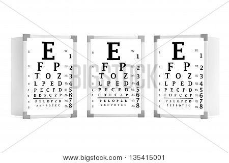 Snellen Eye Chart Test Image Photo Free Trial Bigstock