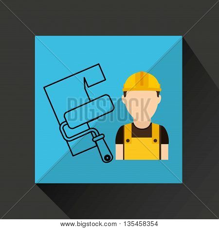 construction tools design, vector illustration eps10 graphic