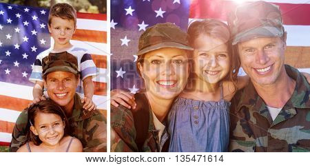 Soldier couple reunited with their daughter against american soldier reunited with his son and daughter