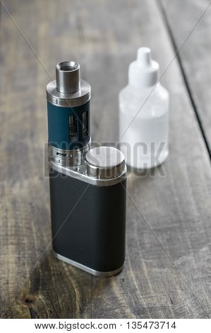 Advanced personal vaporizer or e-cigarette close up