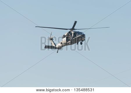 U.s. Army Sikorsky Uh-60 Black Hawk Helicopter