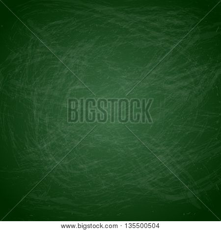 Green Chalkboard Background - Green chalkboard background vector background.  File is layered for easy editing.