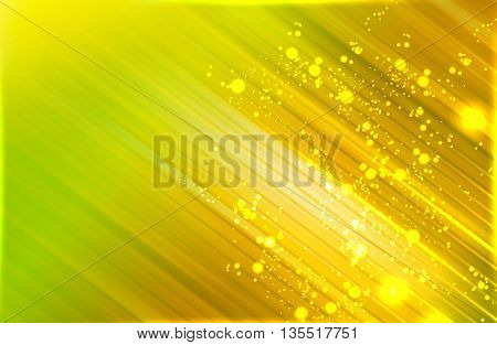Abstract golden light neon copy space background