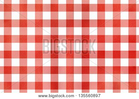 Red Checked Texture.