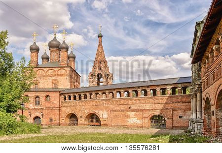Krutitsy metochion is an operating ecclesiastical estate of Russian Orthodox Church, located in Tagansky District of Moscow, Russia.