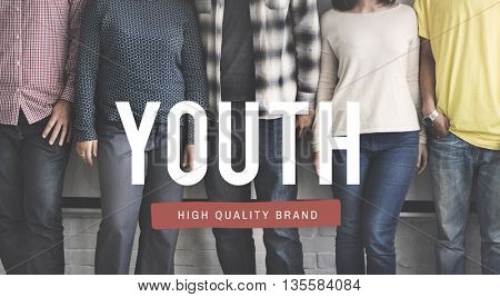 Youth Generation Teenager Young Adult Concept
