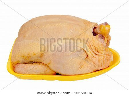 Supermarket Chicken - isolated