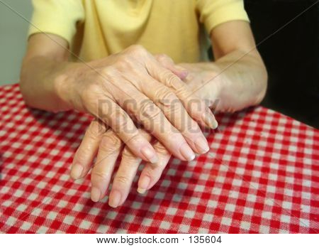Aged Arthritic Hands