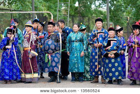 Mongolian Archers