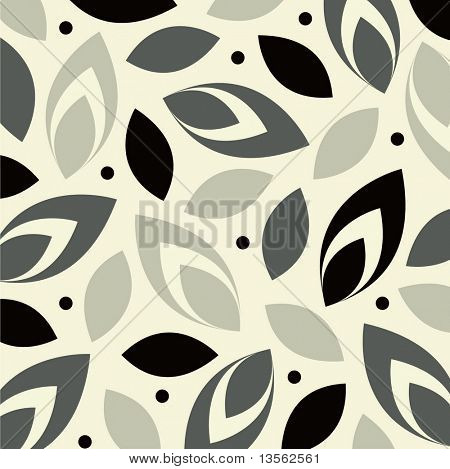 vector leaf background design