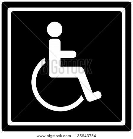 Handicap Sign symbol physical impairment computer icon wheelchair,