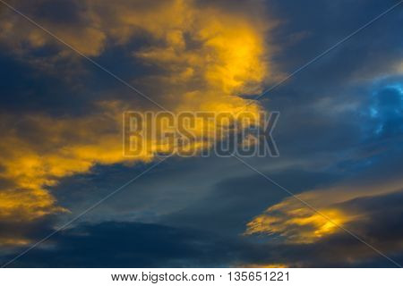 background sky with clouds stratosphere abstract air