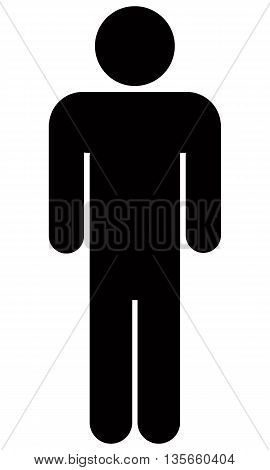 Stick Figure Icon stick figure computer icon symbol men one person