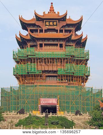 Yellow Crane Tower In Wuhan