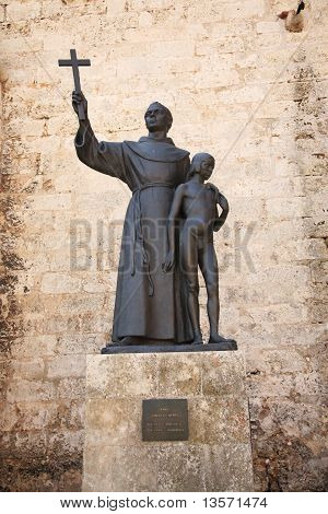 Statue Of Fray Junipero Serra