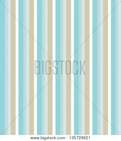 Pastel stripes pattern. Colors of sea and sand.