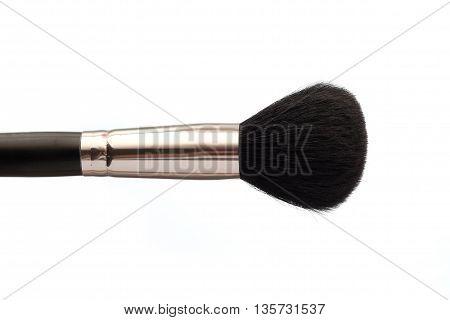 Make Up Brush Isolatd  On White Background