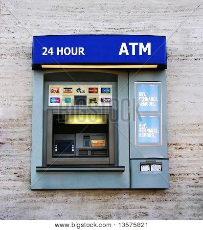 A photo of an ATM machine