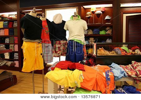 A photo of colorful teen fashion