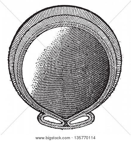 Cudey bandage, vintage engraved illustration. Industrial encyclopedia E.-O. Lami - 1875.