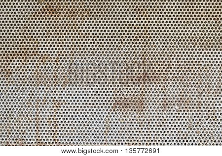 Old grunge metal background with rust: texture