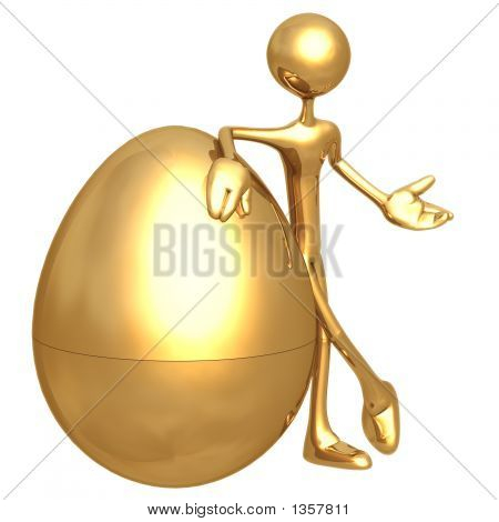 Presenting Gold Nest Egg