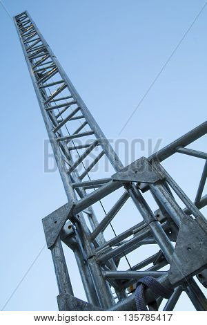 Metal girder beam for stage and light structure support