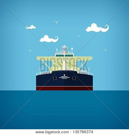 A tanker or tank ship or tankship, a merchant vessel designed to transport liquids