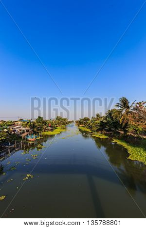 Village On Canal Side
