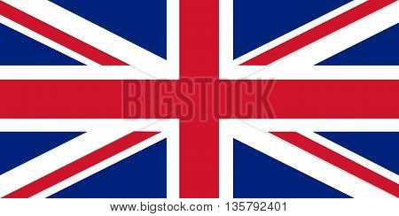 Union Jack - the United Kingdom flag - An illustration of the United Kingdom flag 'Union Jack'