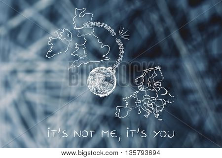 It's Not Me Its You, Broken Ball & Chain (leavers' Point Of View)
