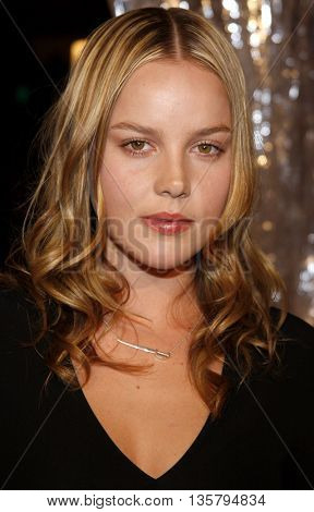 Abbie Cornish at the Los Angeles premiere of 'Watchmen' held at the Grauman's Chinese Theater in Hollywood, USA on March 3, 2009.