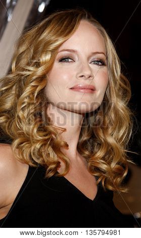 Marley Shelton at the Los Angeles premiere of 'Watchmen' held at the Grauman's Chinese Theater in Hollywood, USA on March 3, 2009.