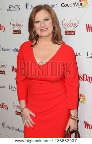 NEW YORK-FEB 10, 2015: TV personality Caroline Manzo attends the 12th Annual Woman's Day Red Dress Awards at Jazz at Lincoln Center on February 10, 2015 in New York City.