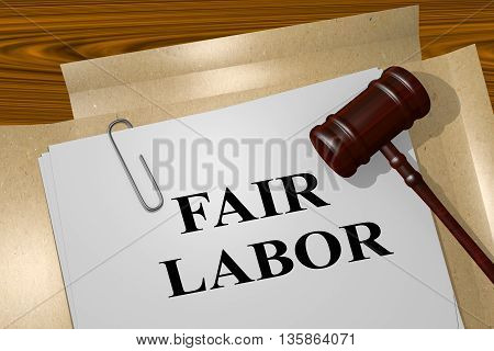 Fair Labor Legal Concept