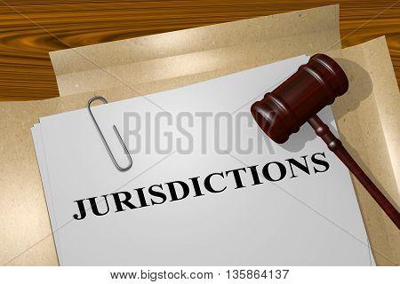 Jurisdictions Legal Concept
