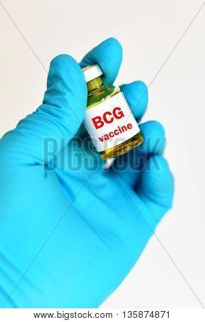 BCG (Bacillus Calmette Guerin) vaccine for injection