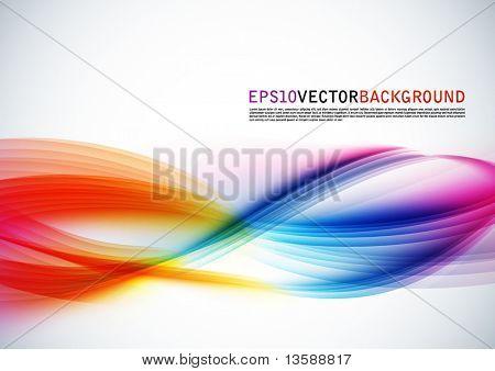 Abstrakti vektori aalto