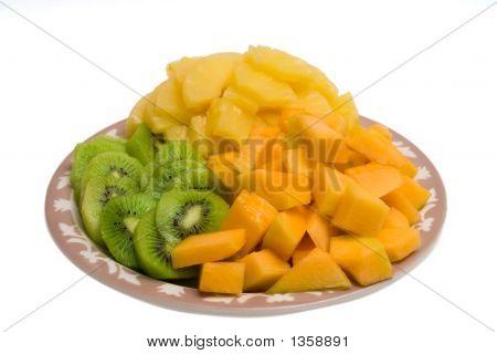 Kiwi And Cantaloupe Tray