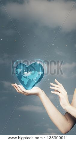 Save the planet. abstract natural backgrounds for your design, not 3D rendered