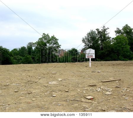 Empty Home Site Sold!