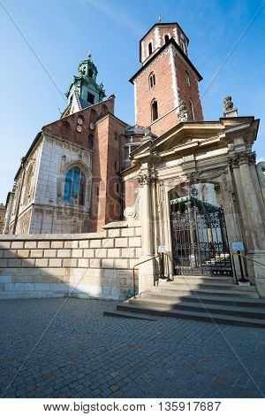 Cathedral of Stanislaus and Wenceslaus in Poland (Krakow).